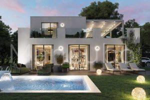 Ejemplo planos casa prefabricada