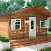 Casas de madera maciza