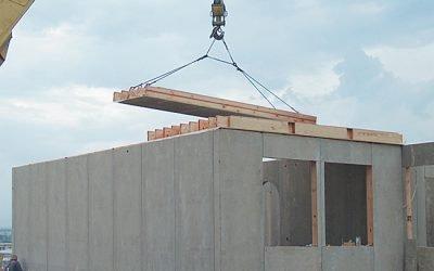 Etapas de instalación de una casa de madera