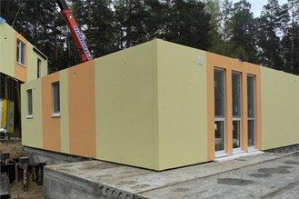 Tecnología de construcción de casas prefabricadas